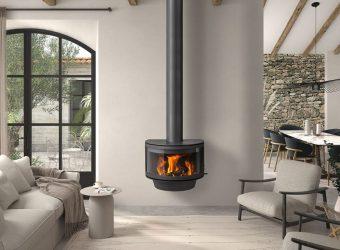 Дизайнерський камін Rocal Ronde Frontal